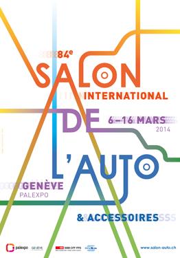 SALON DE l'AUTO DE GENEVE 2014